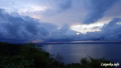 Sunset di Tanjung Ringgit akan sangat bagus jika cuaca cerah