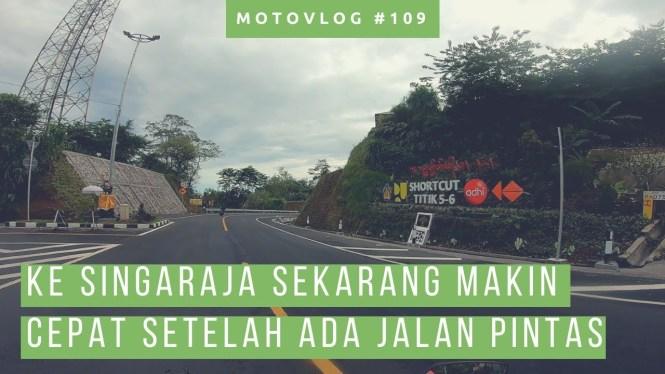 Lewat Shortcut Singaraja Denpasar Lagi Pagi Hari Ke Arah Singaraja! [ Motovlog Bali ]