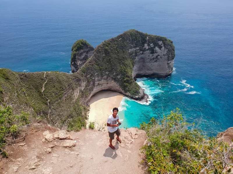 Pantai Kelingking Beach, Pantai Nusa Penida Terpopuler! [ Wisata Nusa Penida ]