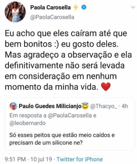 paola carosella twitter