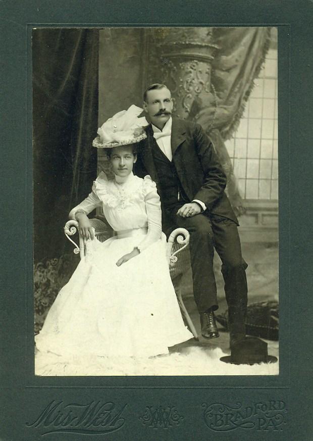 george and josephine westwedding