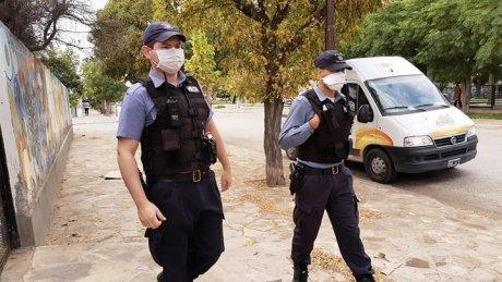 policia calle - Catriel25Noticias.com