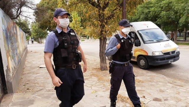 policia calle