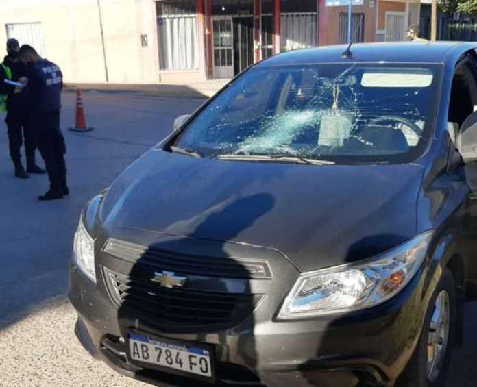 Catriel: Accidente de tránsito. Un hombre resultó con traumatismos