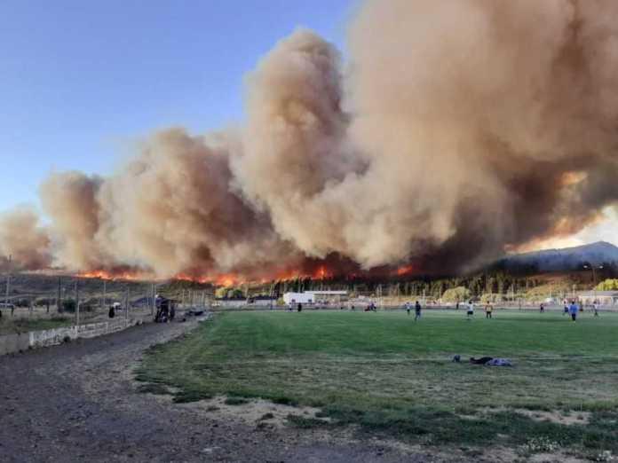 En Catriel realizan campaña solidaria para asistir a vecinos por incendios en el sur