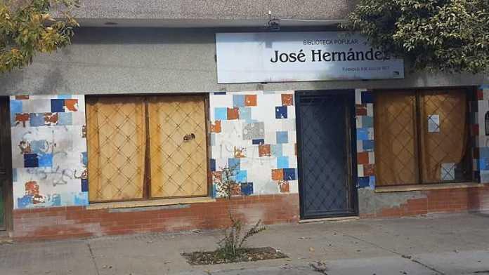 Catriel: Campaña solidaria para reabrir la biblioteca José Hernández