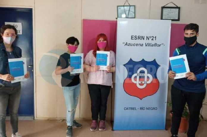 Acompañamiento a estudiantes de Catriel en su trayectoria escolar y proyecto de vida