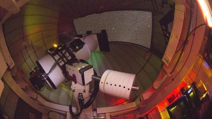 Uno de los telescopios ATLAS.