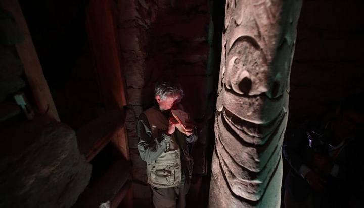 Descubrimientos contribuyen a la puesta en valor del sitio, al mejoramiento del sistema de canaletas y techos, así como el mantenimiento de la galería donde está el Lanzón Monolítico. (Foto: Juan Ponce/El Comercio).