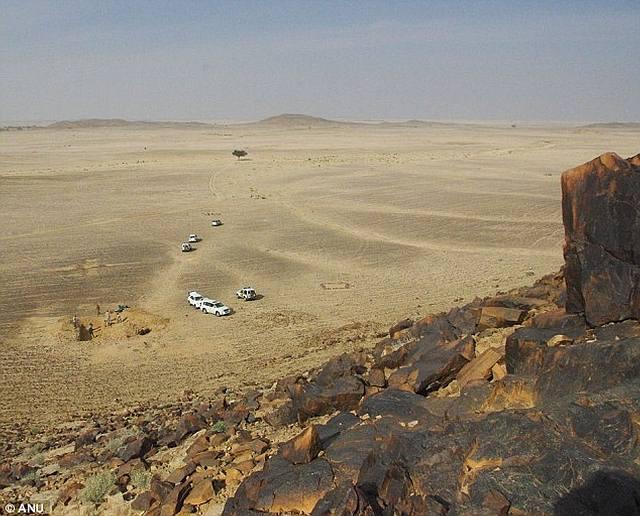 Saffaqah, el lugar de la excavación.