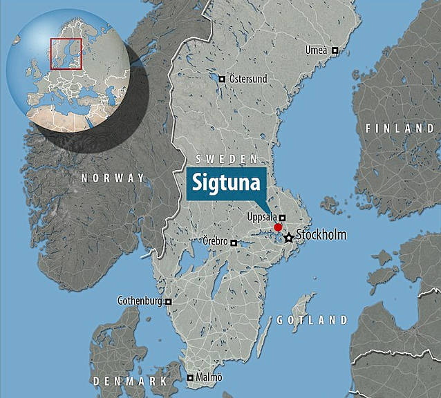 sigtuna-mapa