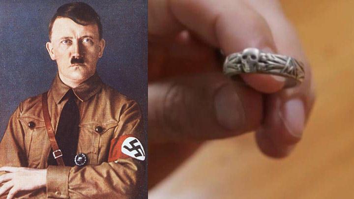 El anillo probablemente perteneció a un oficial de la SS.