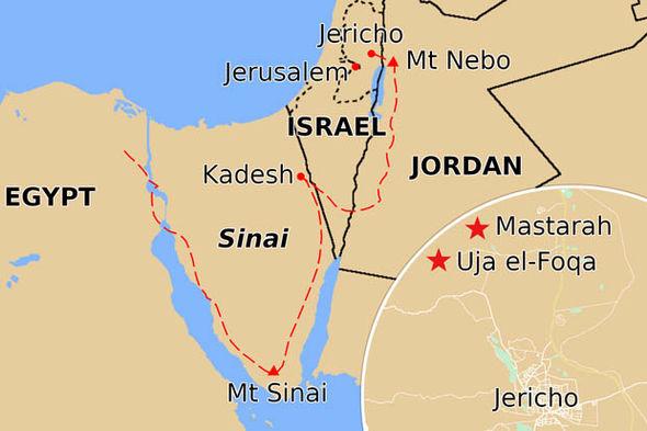 Khirbet el-Mastarah se encuentra pocos kilómetros al norte de Jericó.