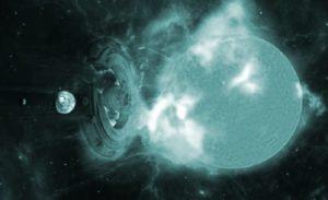 """""""Algo"""" Nos salvo de una poderosa """"Tormenta geomagnética"""" dirigida hacia la Tierra!"""