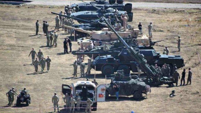 Resultado de imagen de maniobras militares de la otan 2018