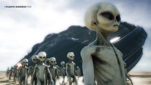 Los seres alienígenas (OVNIs) que vigilan la Antártida ¿Que buscan?