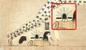 Relación con actividad extraterrestre en la gran esfinge de Guiza