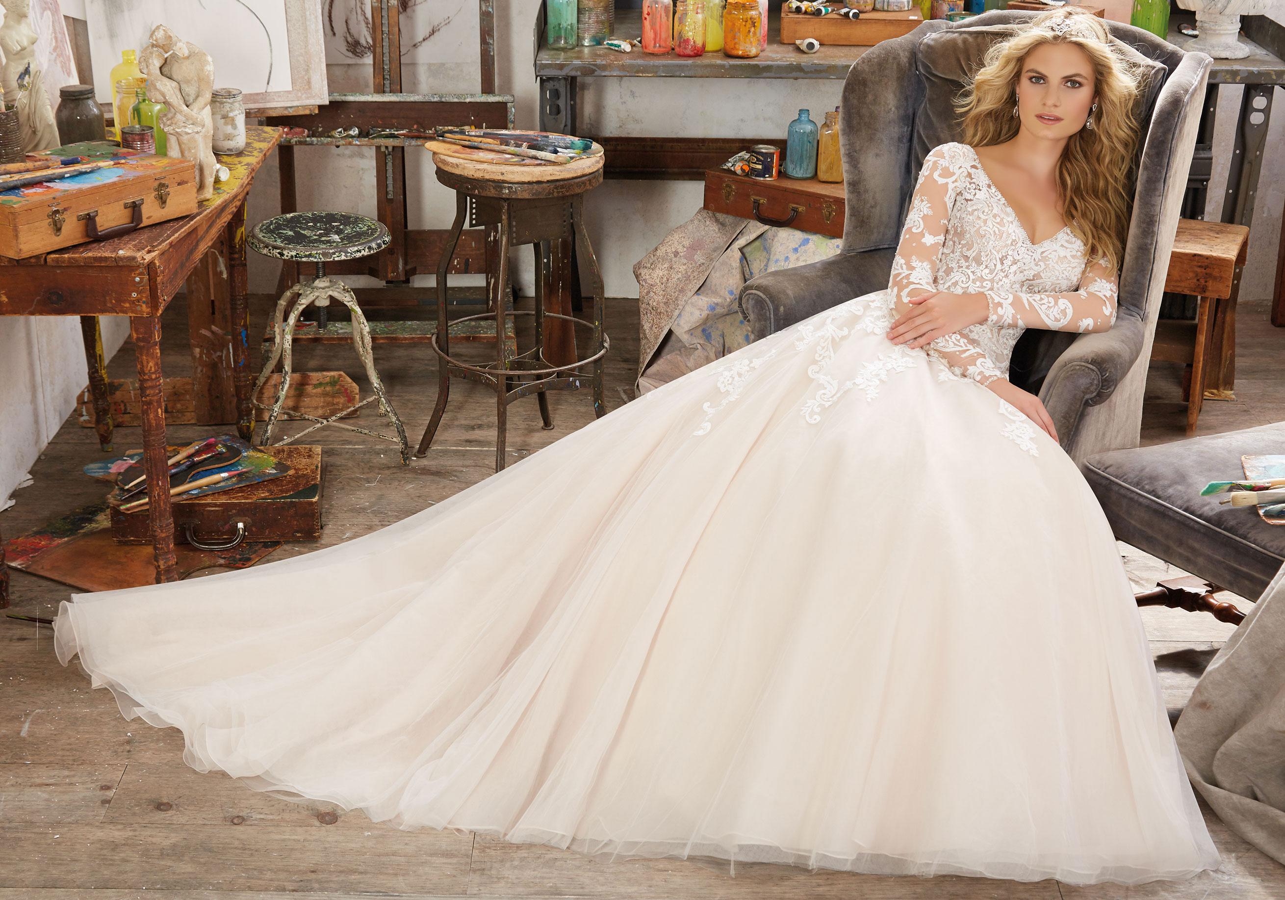 Mori Lee 8110 Maira Wedding Dress