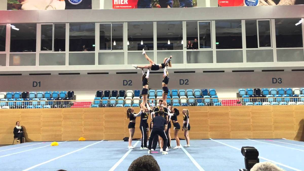 Cats 2015 Landesmeisterschaft in der MBS Arena Potsdam