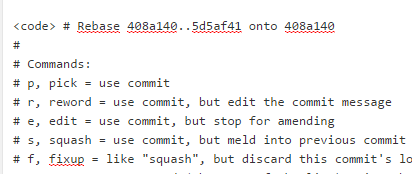 code tag with a bad character at the start of each line