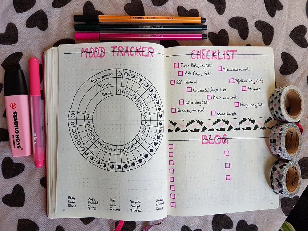 Bullet Journal - Mon système pour le mois de Mai