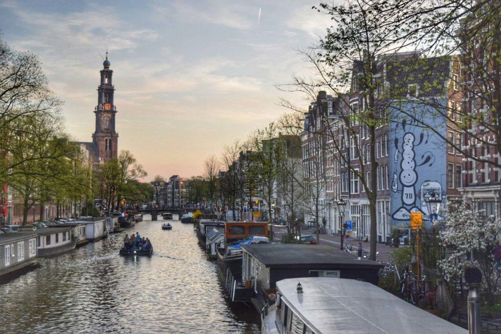 Amsterdam au printemps