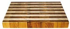 tagliere legno bi colore