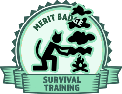 Merit Badge: Survival Training