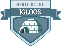 Merit Badge: Iglooology