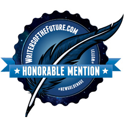 HONORABLE MENTION WOTF  Badge from the credit list of Cat Girczyc