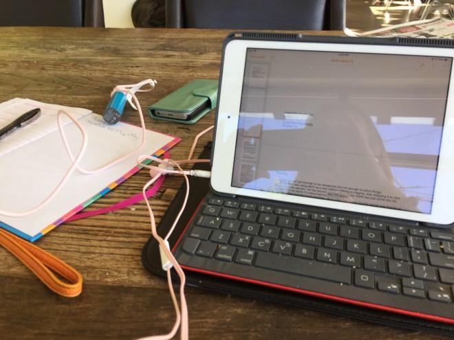 iPad Novel progress