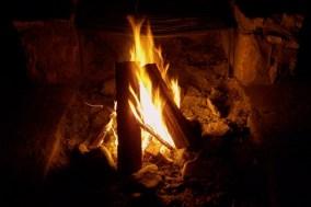 Obligatory campfire photo.