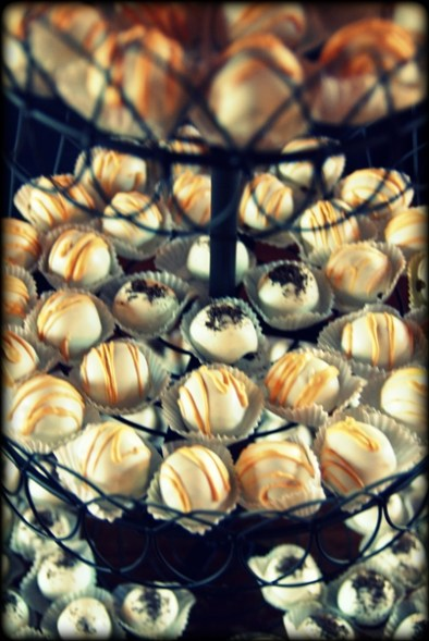 Cake balls because cake is gross.