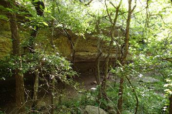 Tonkawa Cave