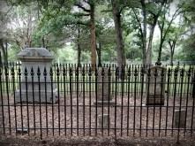 Springfield Cemetery and gravestones