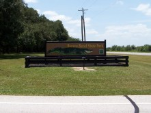 Brazos Bend sign