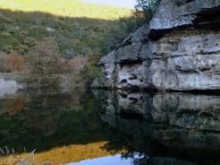 Pond at campsite C.