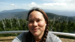 Clingmans Dome selfie. I don't know what I'm looking at.