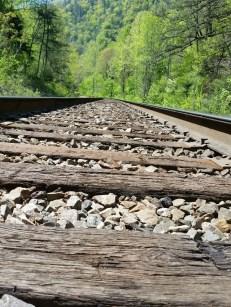 Erwin railroad tracks.
