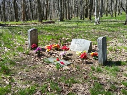Shelton gravesite.