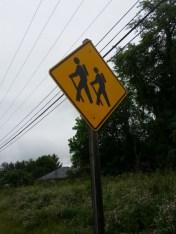 Hicker crossing.