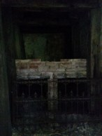 Empty mausoleum.