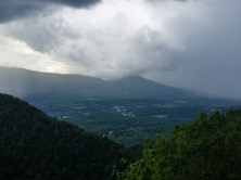 Prospect Rock view with rain on the way!