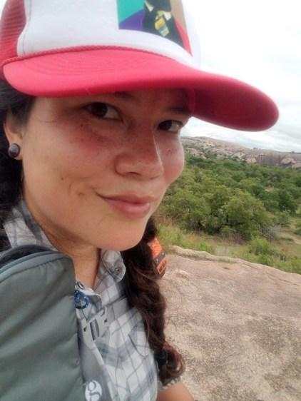 Trail selfie.
