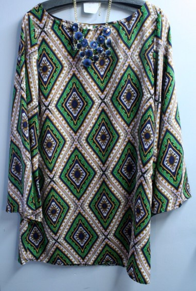 Tunic perfect for wearing with jeans or leggings