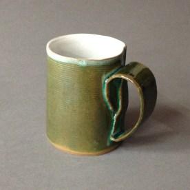 horizontal line mug