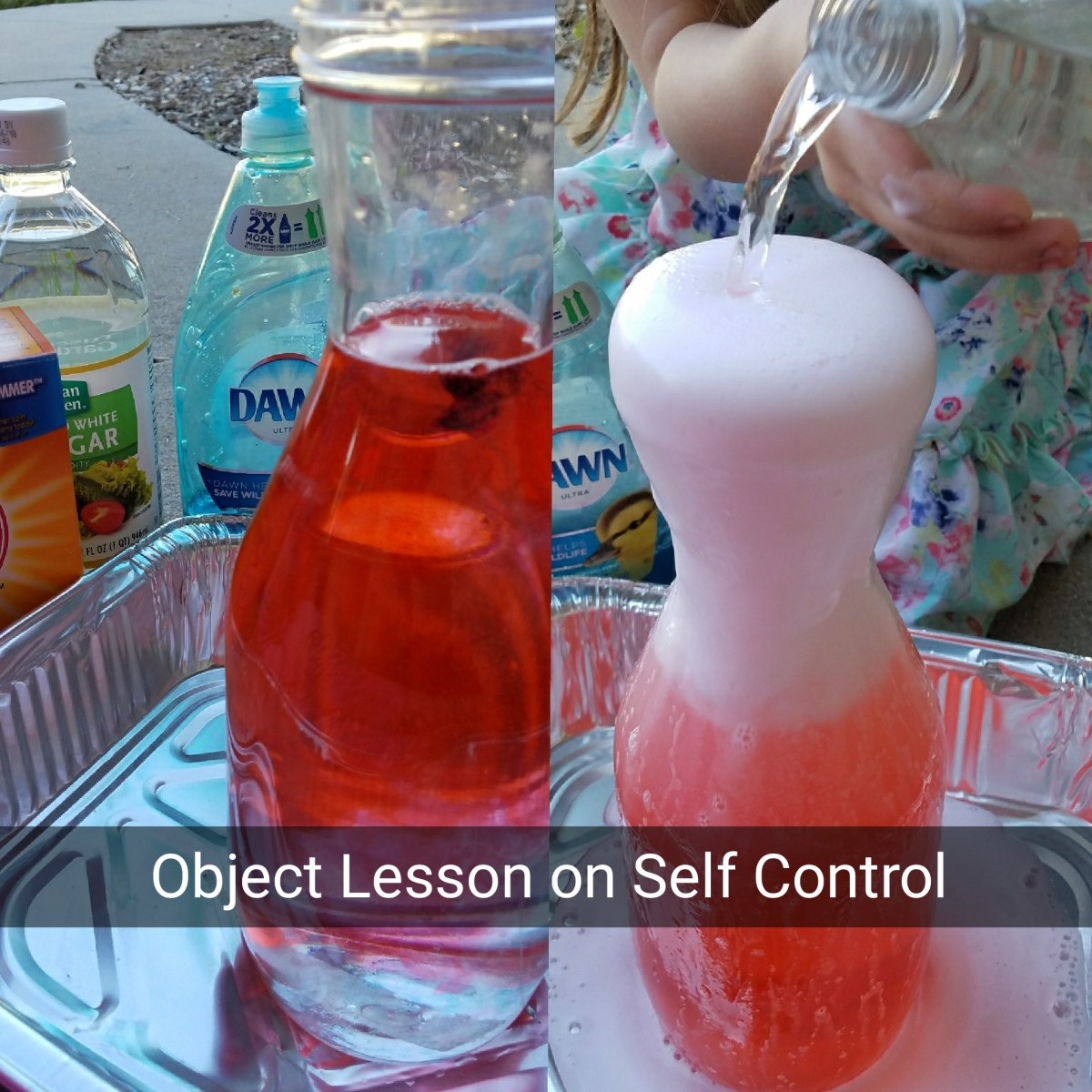 Stop, Pray, Walk Away:  Object Lesson on Self Control