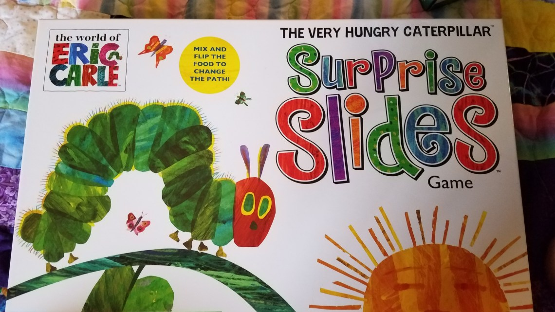 My Review of the Very Hungry Caterpillar Surprise Slides Game
