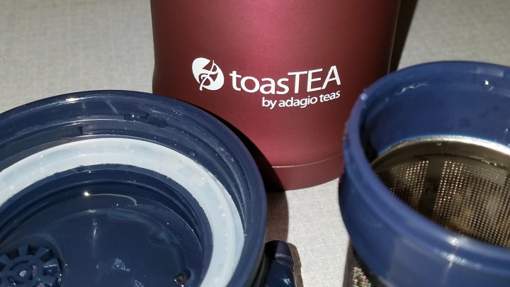 Review of TOASTEA travel infuser