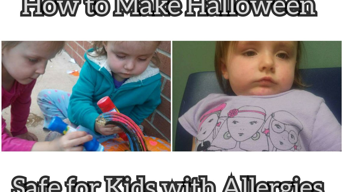How to Make Halloween Safe for Kids with Allergies